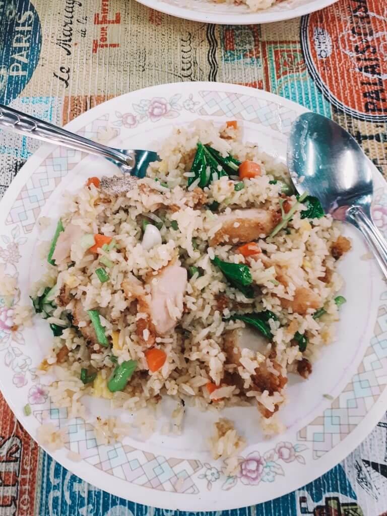 pork fried rice.
