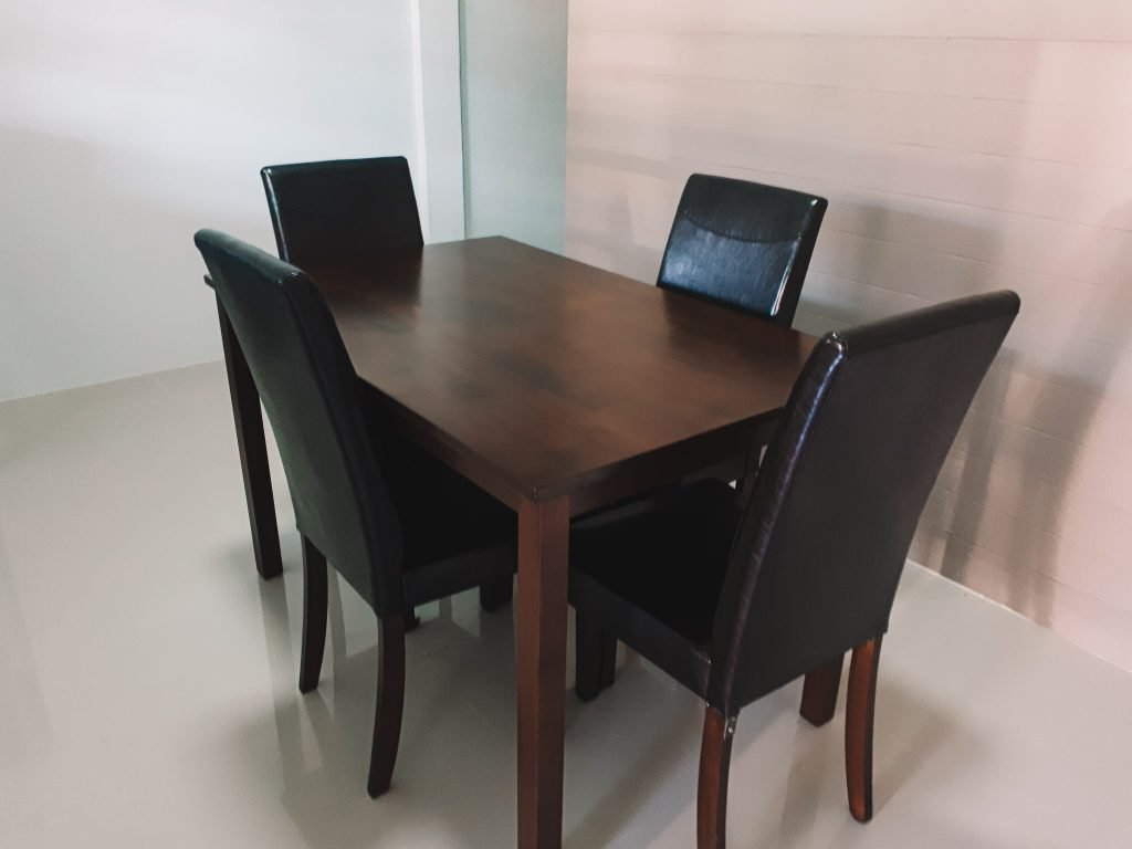 The table we bought for our house in Chumphon Thailand.