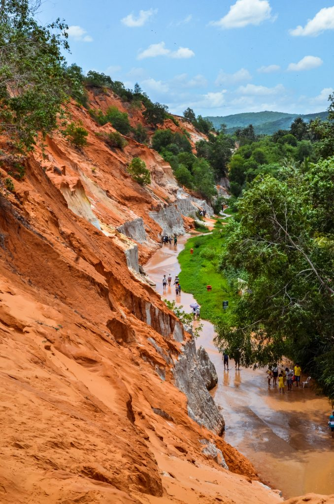 the famous fairy stream of Mui Ne Vietnam