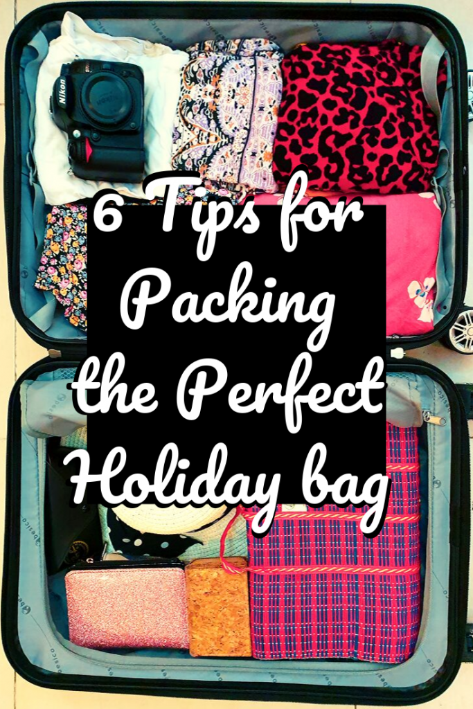6 tips for packing the perfect holiday bag