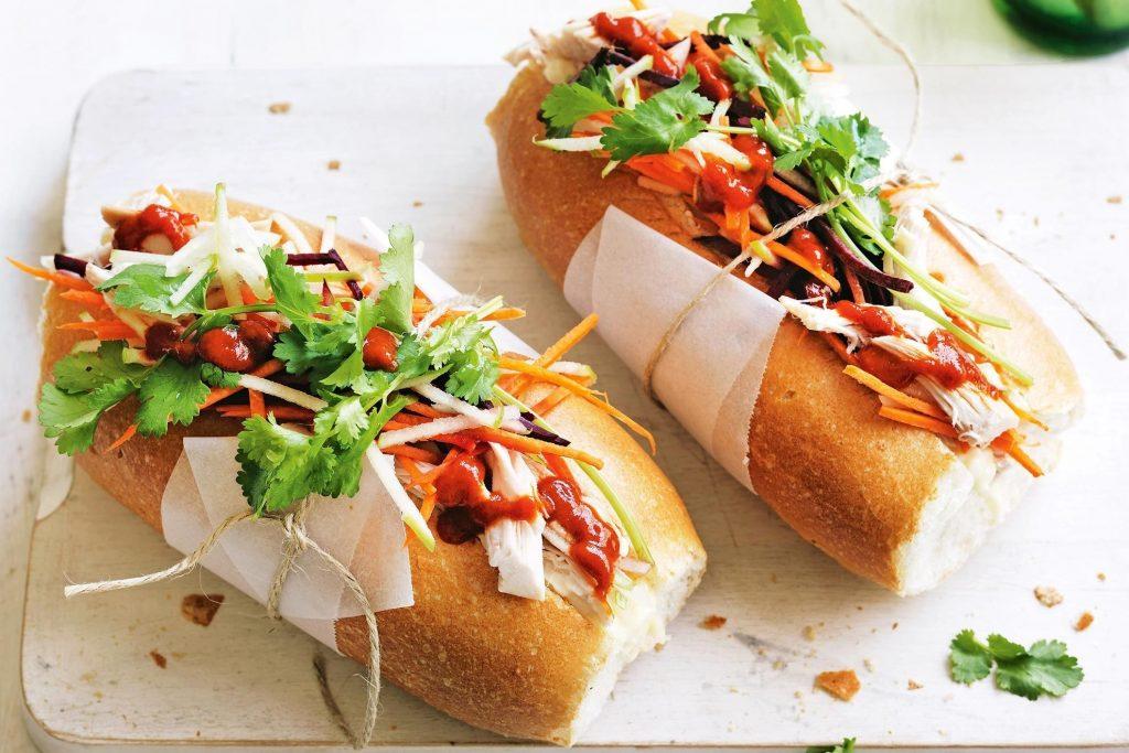 banh minh sandwich in Vietnam