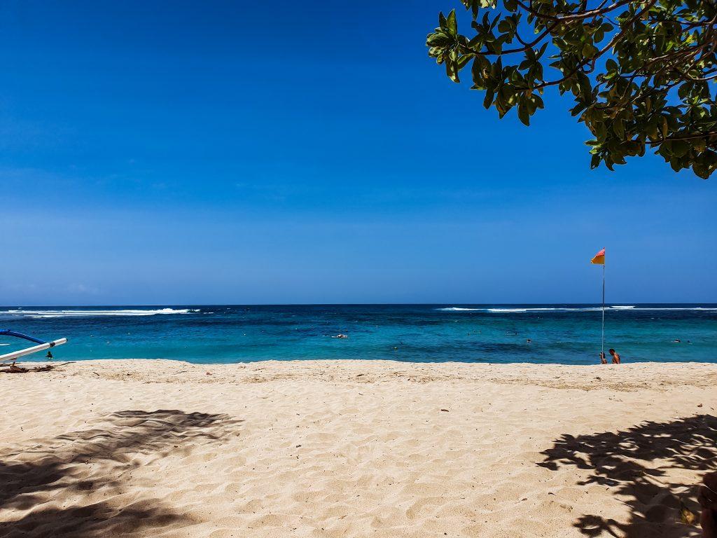 Nusa Dua Beach on Bali, Indonesia