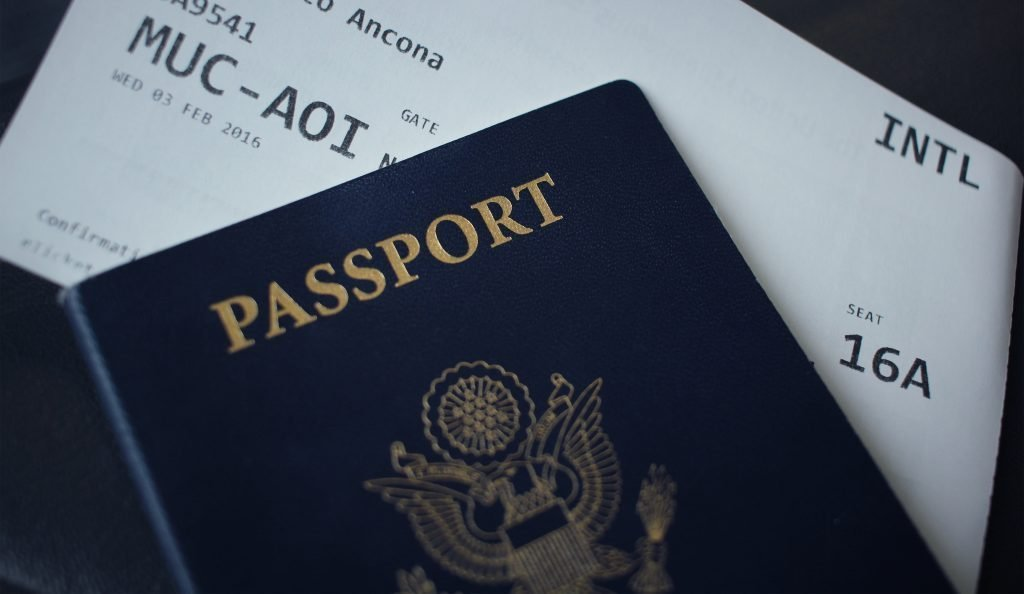 passport and flight ticket should be kept close by, the perfect tip for first time travelers