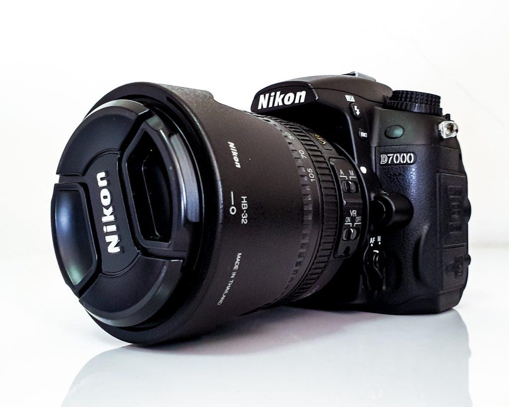 Nikon D7000 camera and AF-S 18-105mm lens