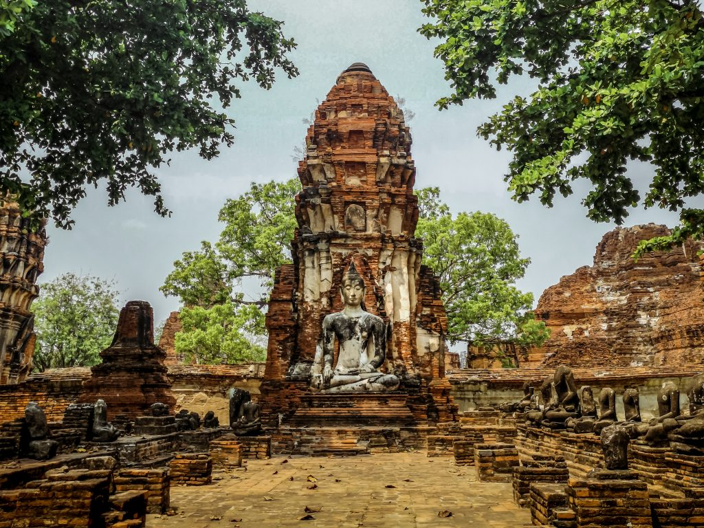 Ayuttaya in Thailand. An old town