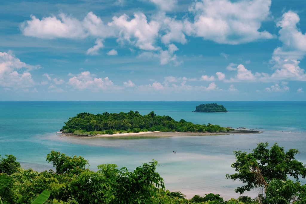 Koh Chang view point on Thailand
