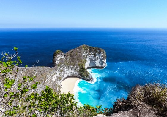 Kellingking beach on Nusa Penida island, Indonesia