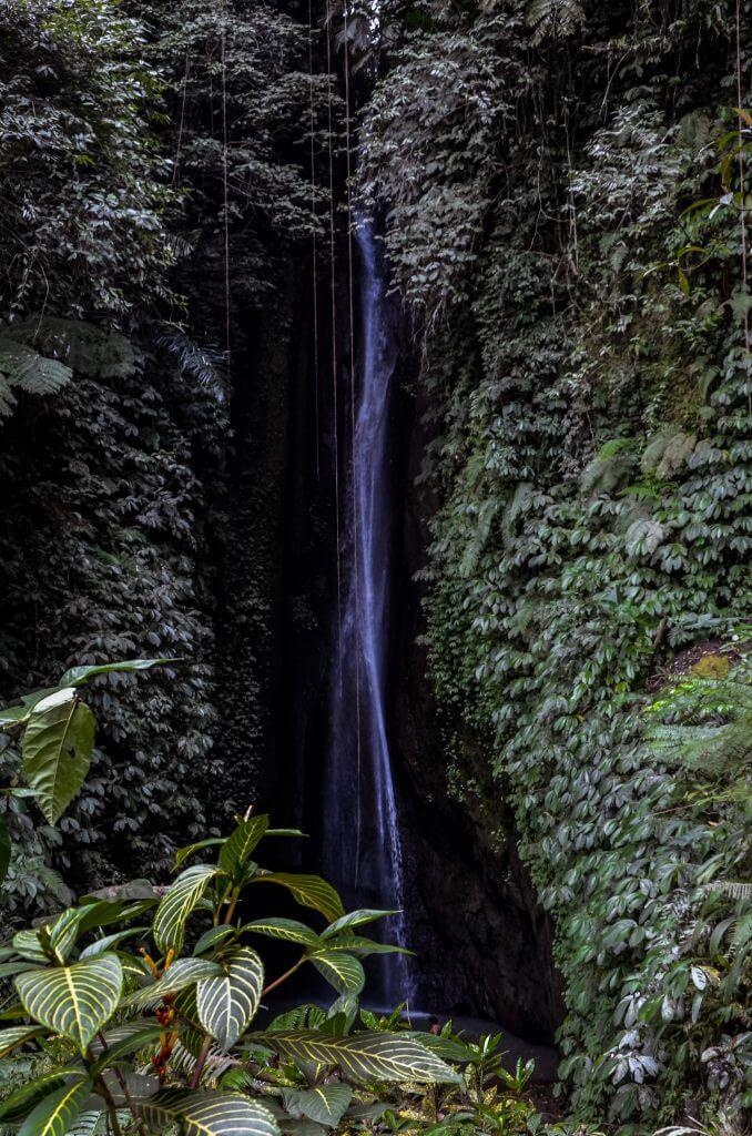 Leke Leke waterfall in the North of Bali
