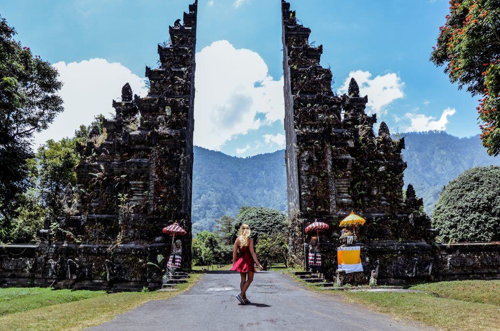 Bali Handara Gate located in the North of Bali