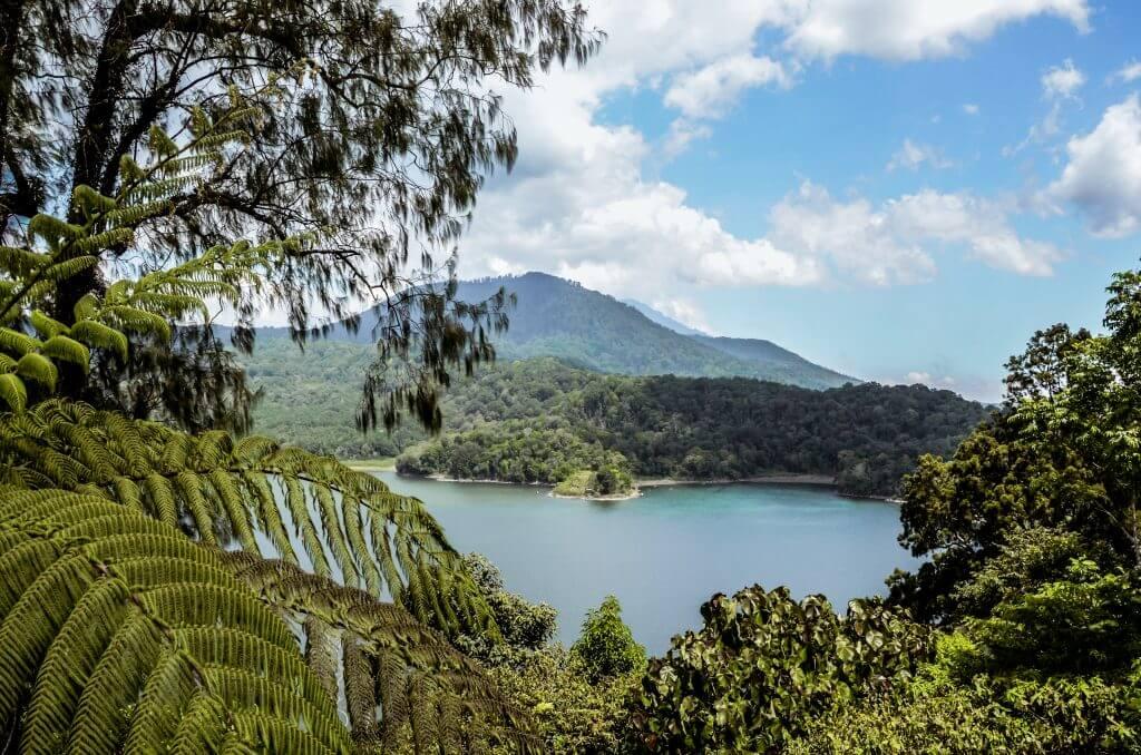 in the north of bali you can see the beautiful Hidden Hills Wanagiri