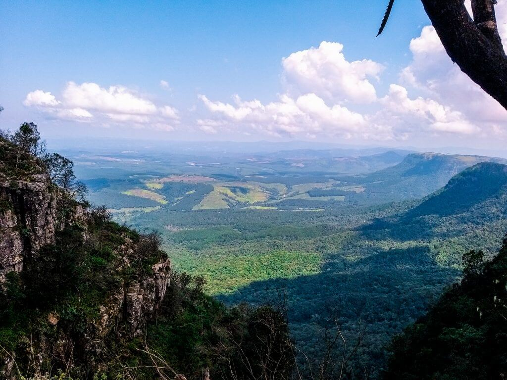 Gods window look out point in Mpumalanga South Africa